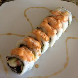 Baked Salmon Roll With a Sweet Ponzu Sauce recipe