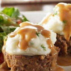 Potato-Topped Mini Meatloaves