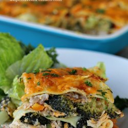 Broccoli Chicken Lasagna