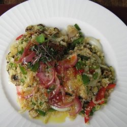 Spicy Couscous With Mushrooms