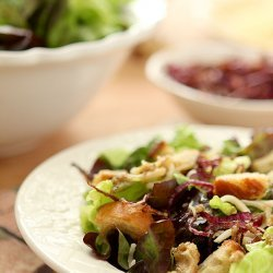 Warm Mozzarella Salad