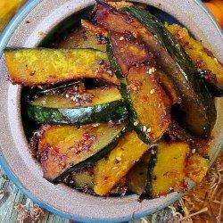 Sweet & Spicy Roasted Kabocha Squash