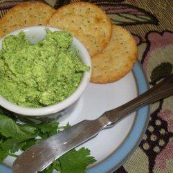 Coriander and Goats Cheese Pesto recipe