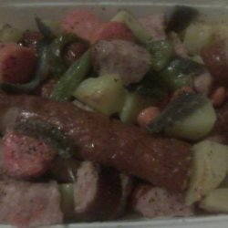 Potato, Meat & Vegetable