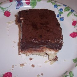 Chocolate Fudge Lush Dessert