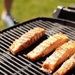 Barbecue Salmon Fillet