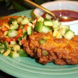 Thai Fishcakes With Sweet Chilli Sauce and Cucumber Relish