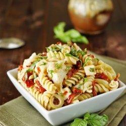 Pasta Salad W/ Artichokes & Sun-Dried Tomatoes