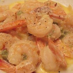 Spicy Shrimp in Cream Sauce