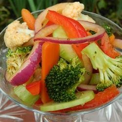 Mom's Marinated Vegetables