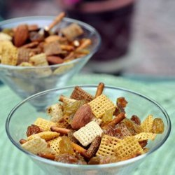 Curry Party Mix recipe