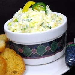 Festive Cheese Dip 'Slaw' recipe
