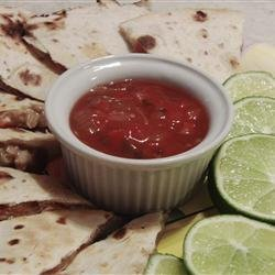 Barbecued Chicken Quesadillas