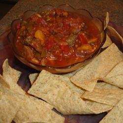 Eggplant Salsa and Homemade Pita Chips