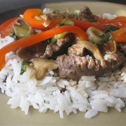 Japanese Beef Stir-Fry recipe