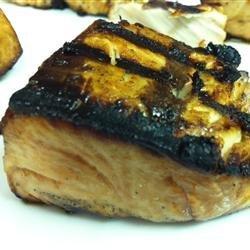 Grilled Teriyaki Tuna recipe