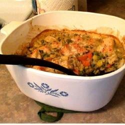 One-Dish Chicken, Vegetable and Rice Bake