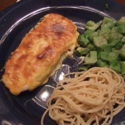 Garlic Parmesan Orange Roughy recipe