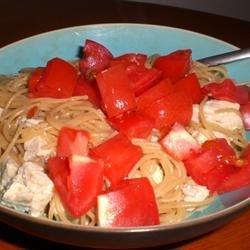 Italian Chicken Bow Tie Pasta
