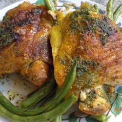 Chicken with Lime Butter