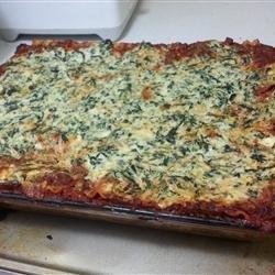 Deep Dish Lasagna