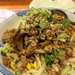 Spicy Sichuan Noodles With Ground Pork