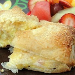 Ham and Cheese Breakfast Strudels
