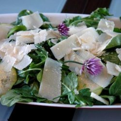 Summer Squash Salad With Lemon, Capers and Parmesan