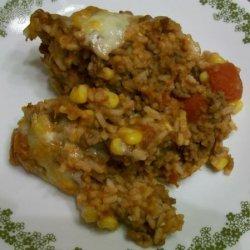 Easy Taco Rice Casserole