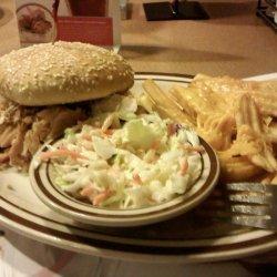 Denny's BBQ Chicken Sandwich