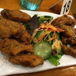 Lemon-Soy Chicken Wings
