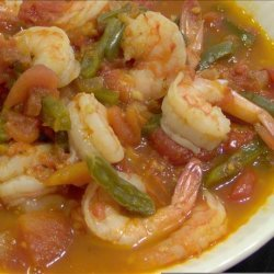 Mexican Shrimp in Green Bean Sauce