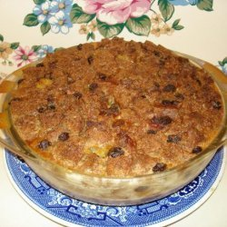 Caramelized Custard Bread Pudding