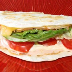 Turkey & Cheese Quesadilla