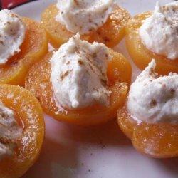 Ricotta Stuffed Apricots