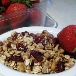 Strawberry Granola Crunch (Clean Eating)