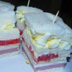 Club Sandwiches-aussie Style
