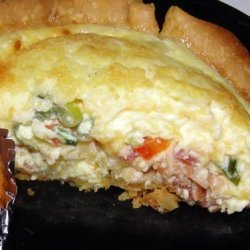 Breakfast Quiche With Bacon