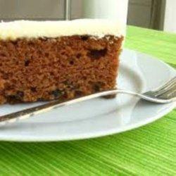 A & P Spanish Bar Cake