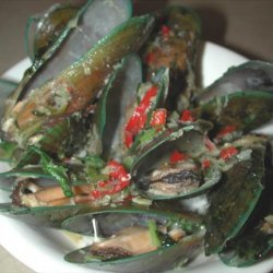Steamed Mussels With Chilli and Coriander