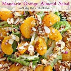 Mandarin Orange Salad With Almonds