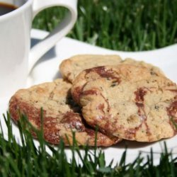 Brownie Swirled Peanut Butter Oreo Cookies