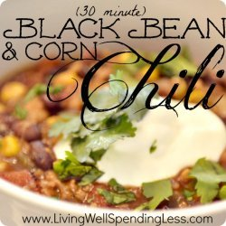 The Best (Vegetarian) Chili