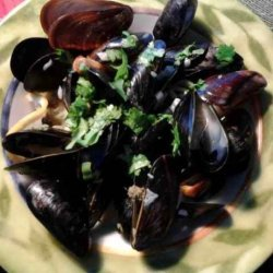 Mussels in Lemon Cream