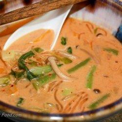 Thai Vegetable Noodle Soup My Way