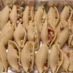 Vegetarian Stuffed Pasta Shells