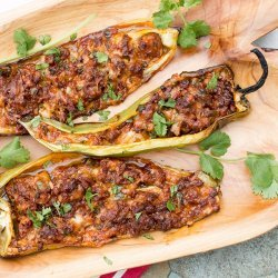 Cheese Stuffed Cubanelle Peppers