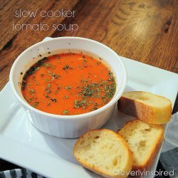 Tomato Soup for the Crock Pot