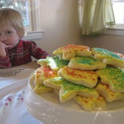 Sugar Cookies, if It Has to Come to That