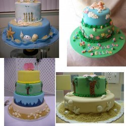 Torta De Cielo (Almond Sponge Cake)
